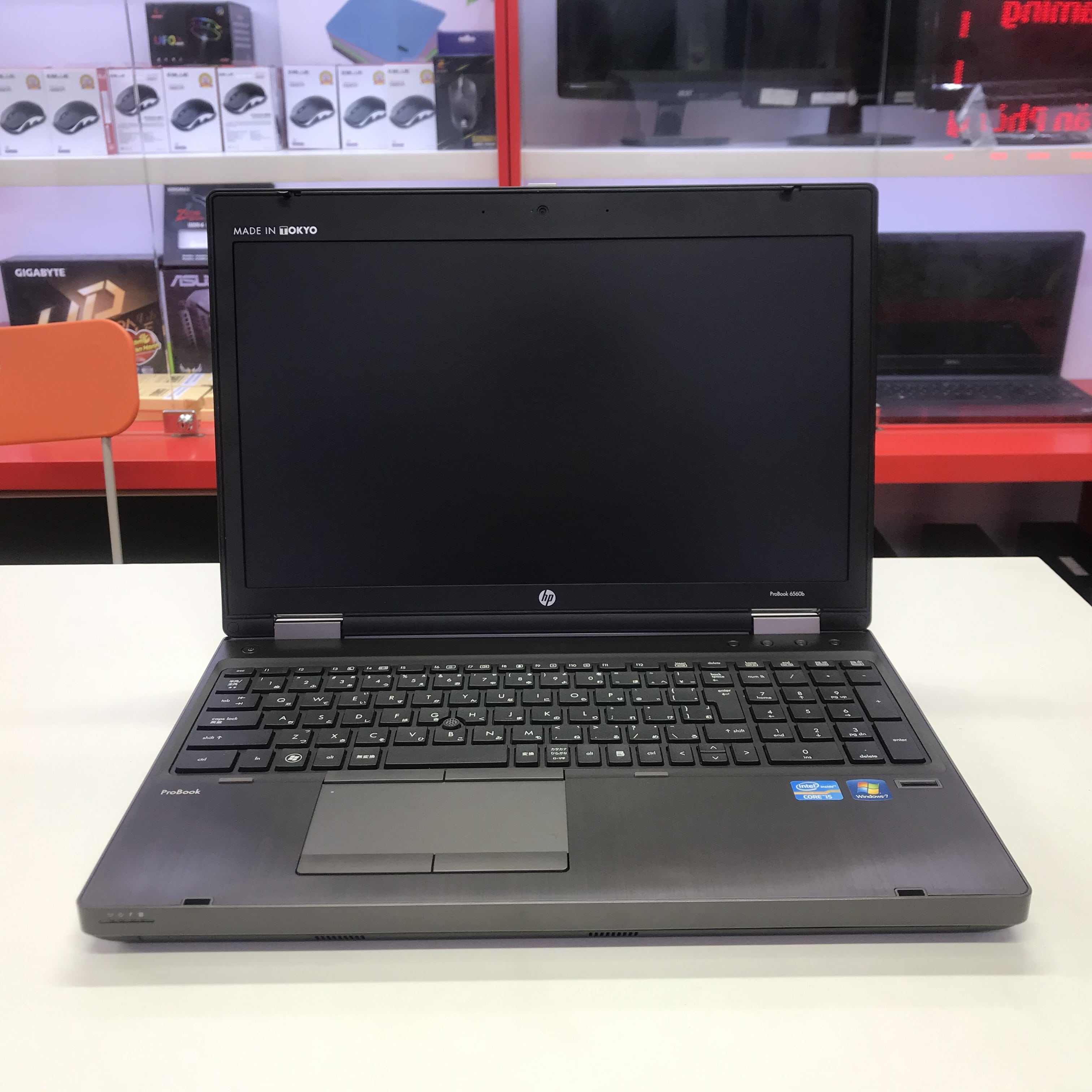 HP Probook 6560B Core i5 2430M, Ram 4GB/ SSD 120GB/ HD Graphics 3000