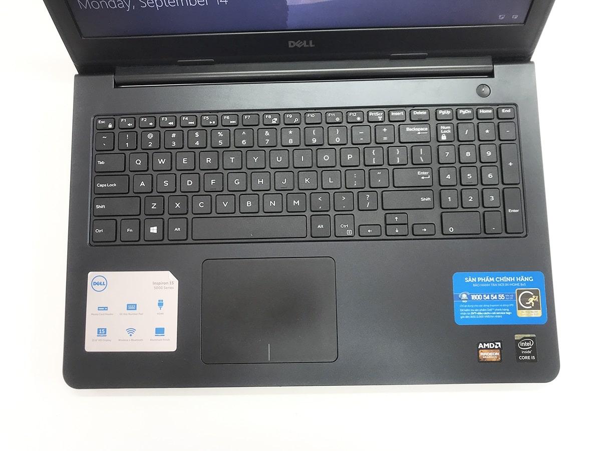 Dell Inspiron 5548 Core i5 5200U, Ram 4GB, HDD 500GB, 15.6 Inch, AMD Radeon R7 M265