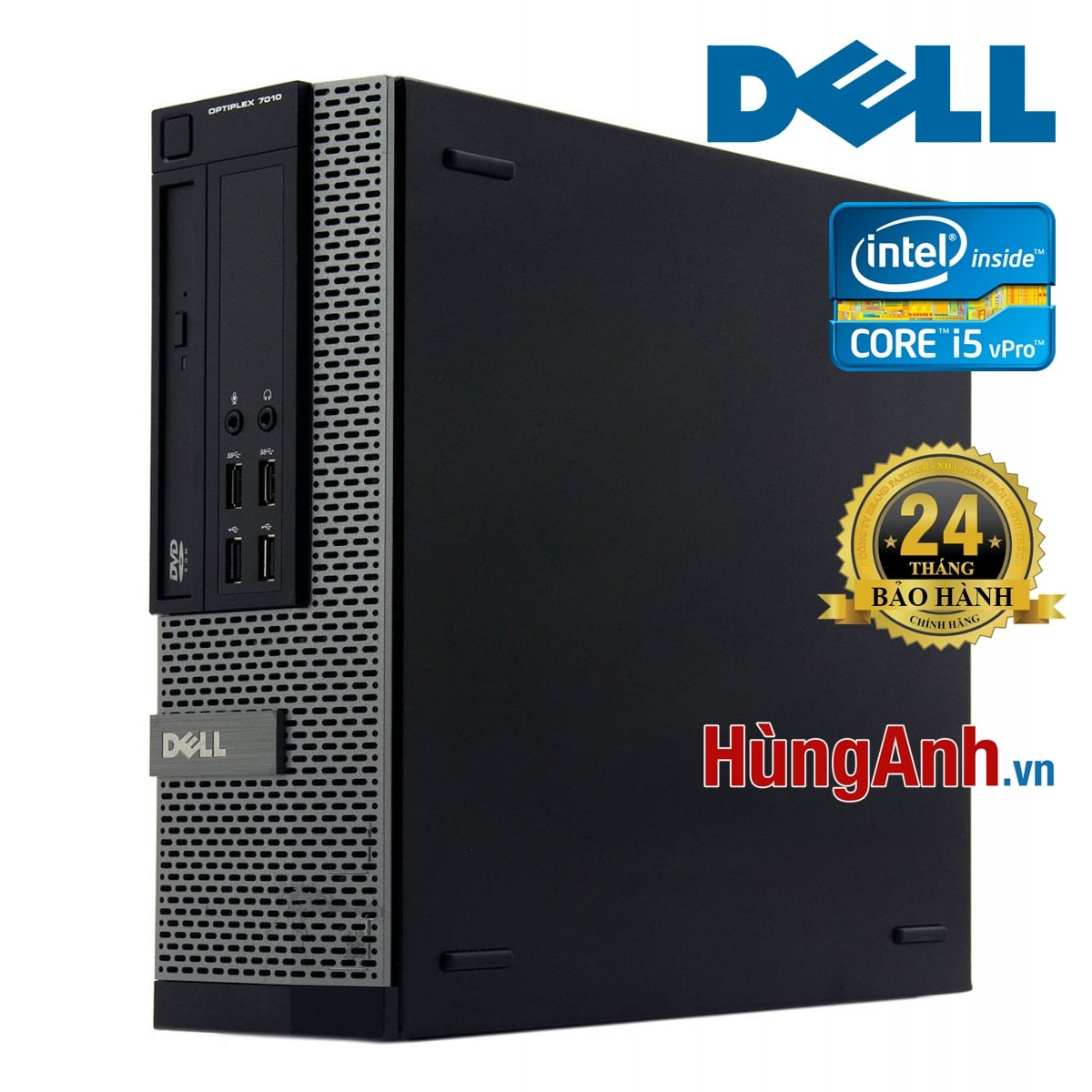 Case Dell OptiPlex 7010 SFF | Core i5 -3470 3,4GHz | RAM 4GB | SSD 120GB + HDD 250GB