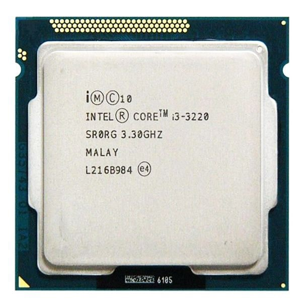 CPU Intel Core i3 3320 3.3 GHz/ 3MB / Intel® HD Graphics 2500 / Socket 1155