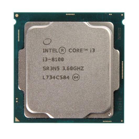 CPU Intel Core i3 8100 3.60GHz/ 6MB / Intel® UHD 630 / Socket 1151