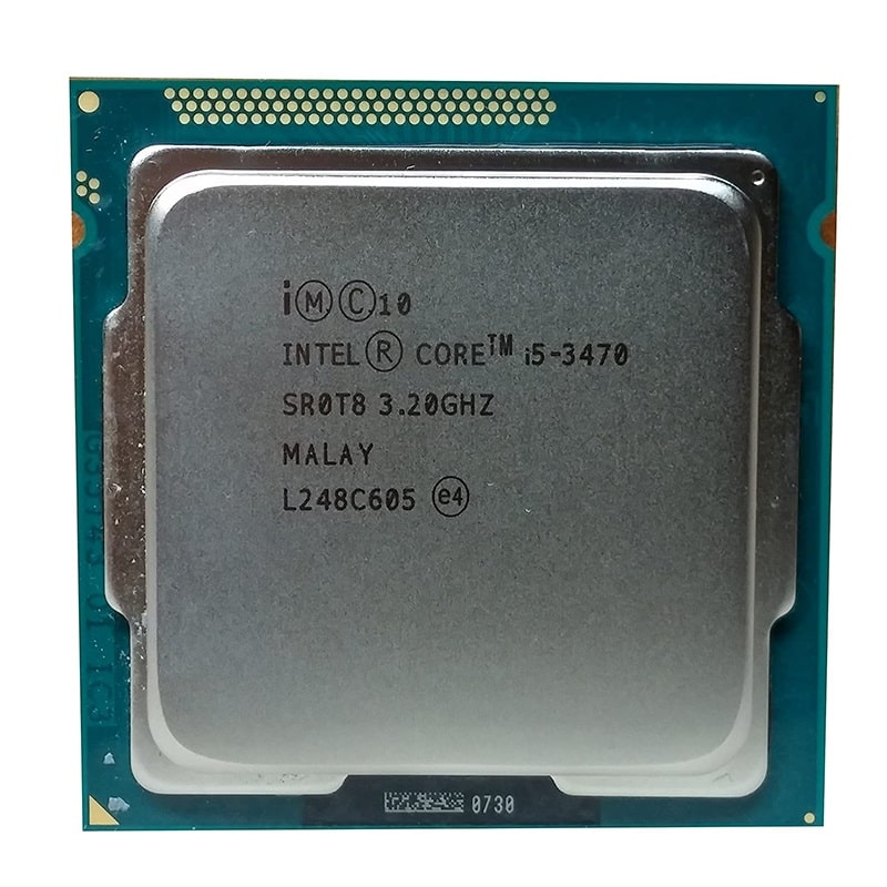 CPU Intel Core i5 3470 3.6 GHz/ 6MB / Intel® HD Graphics 2500 / Socket 1155