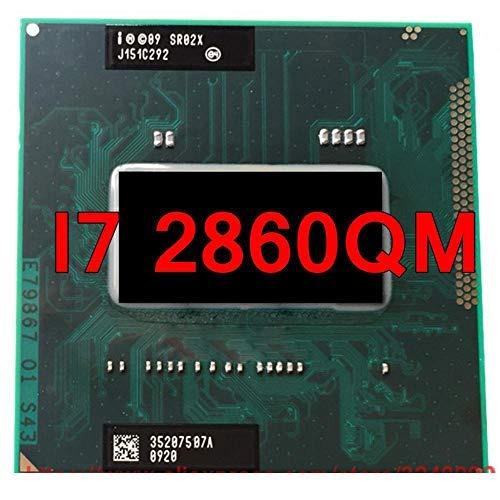 CPU Laptop Intel Core i7 2860QM, 4 lõi 8 luồng, 8MB Cache, tối đa 3.60GHz, Intel HD Graphics 3000