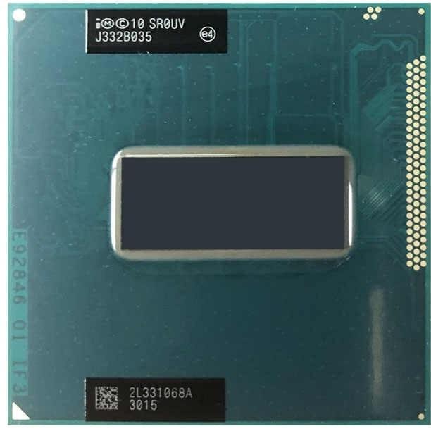 CPU Laptop Intel Core i7 3740QM, 4 lõi 8 luồng, 6MB Cache, tối đa 3.70GHz, Intel HD Graphics 4000