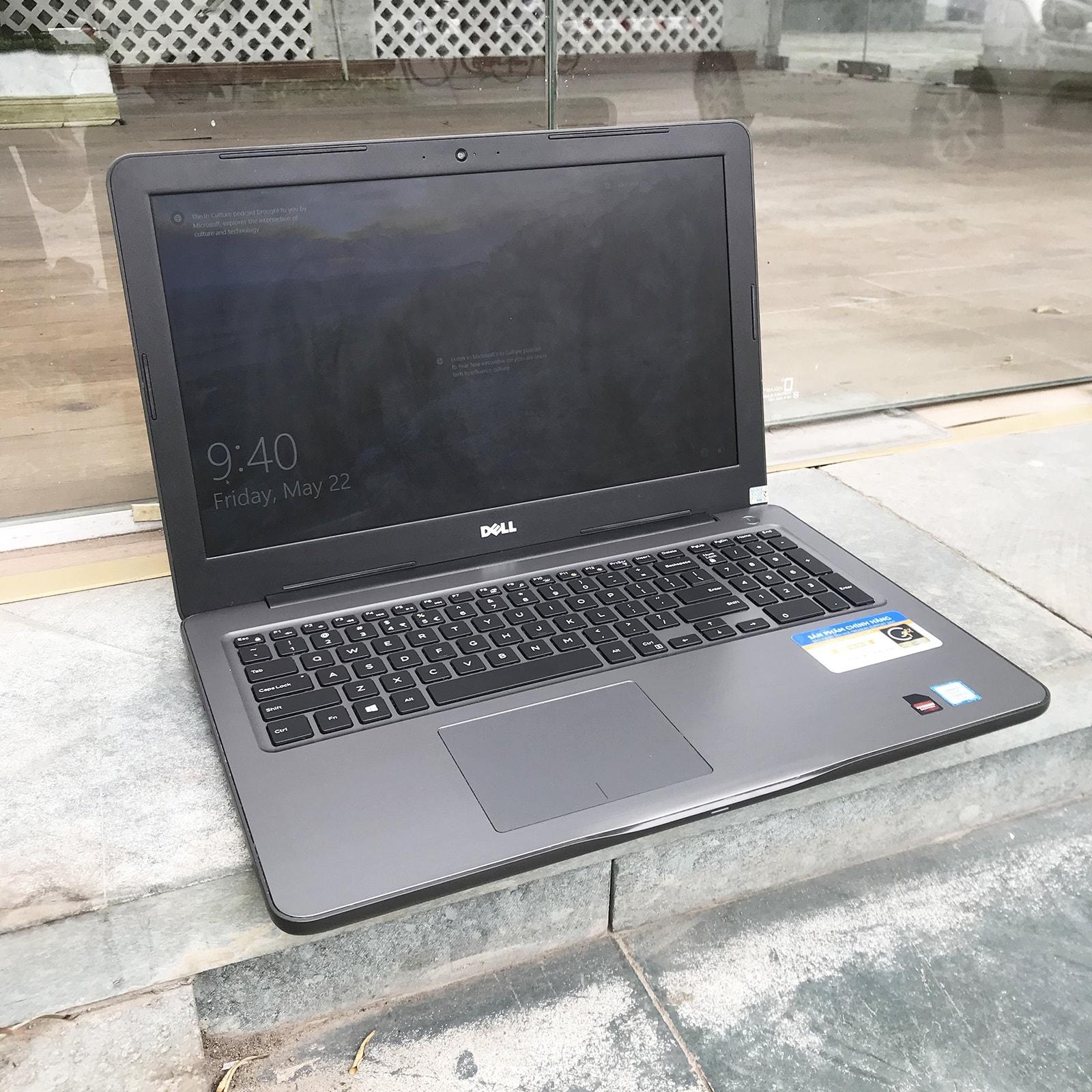 Dell Inspiron 5567 Core i5 7200U, Ram 8GB, SSD 120GB+ HDD 500GB, AMD R7 M445 2GB, 15.6 inch Full HD
