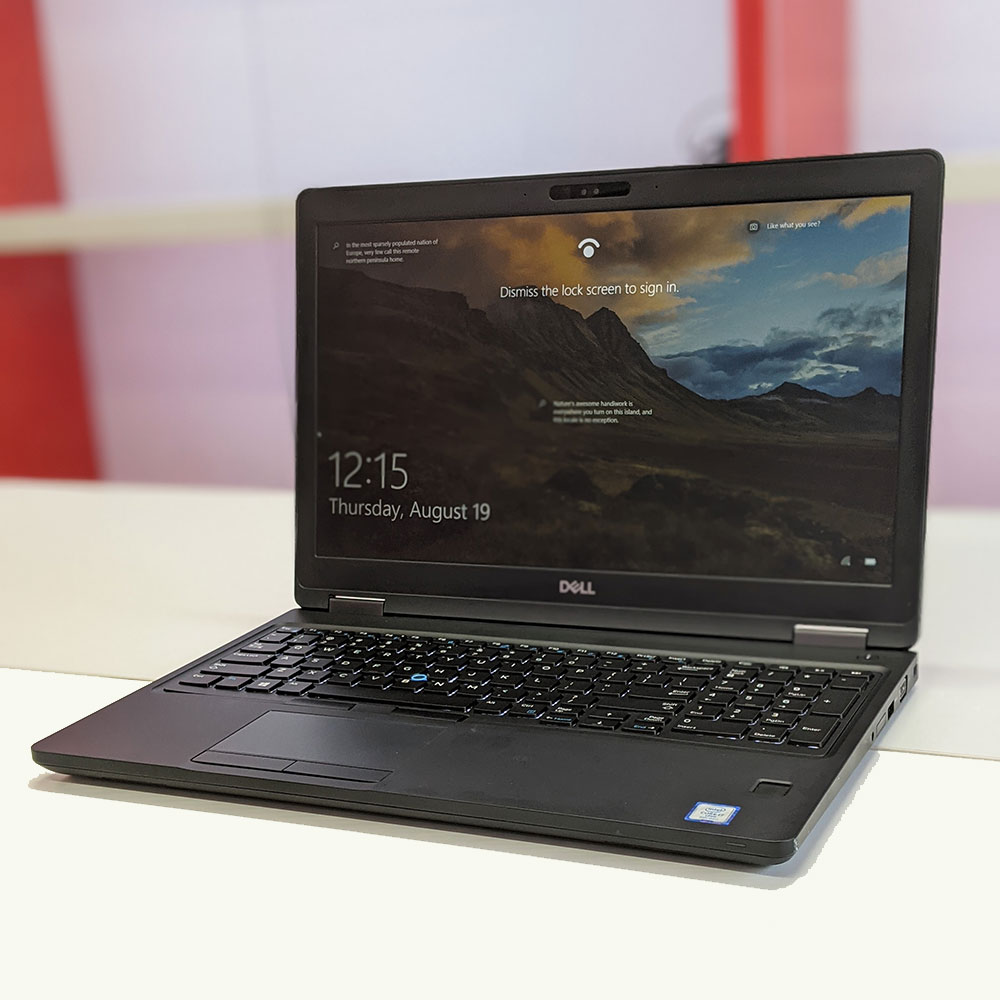 Dell Latitude 5591 Core i7 8850H, Ram 8GB, SSD 256GB, 15.6 Inch FHD, UDH 630, Face ID
