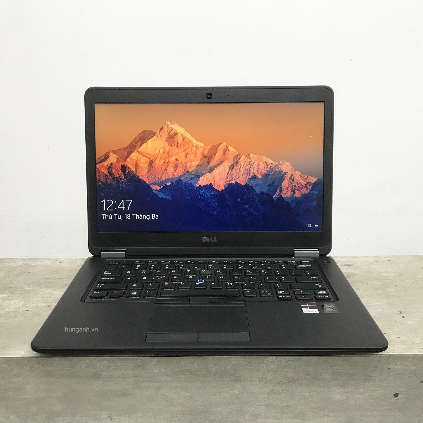 Dell Latitude E7450 Core i5 5300U/ 8GB/ SSD 256GB/ VGA Onboard/ 14 inch