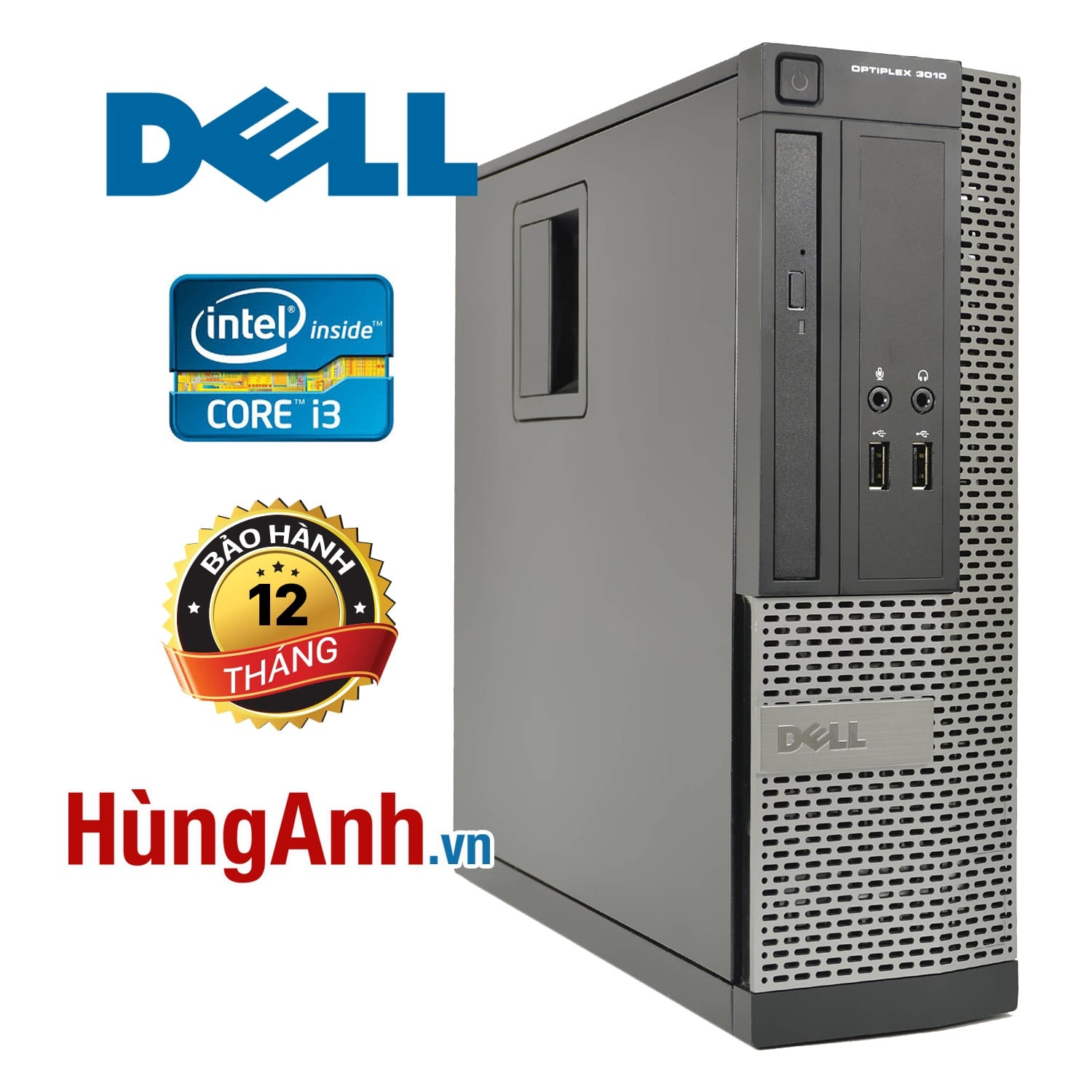 Case Dell OptiPlex 3010 | Core i3 -3320 | RAM 4GB | HDD 250GB | HD Graphics 2500