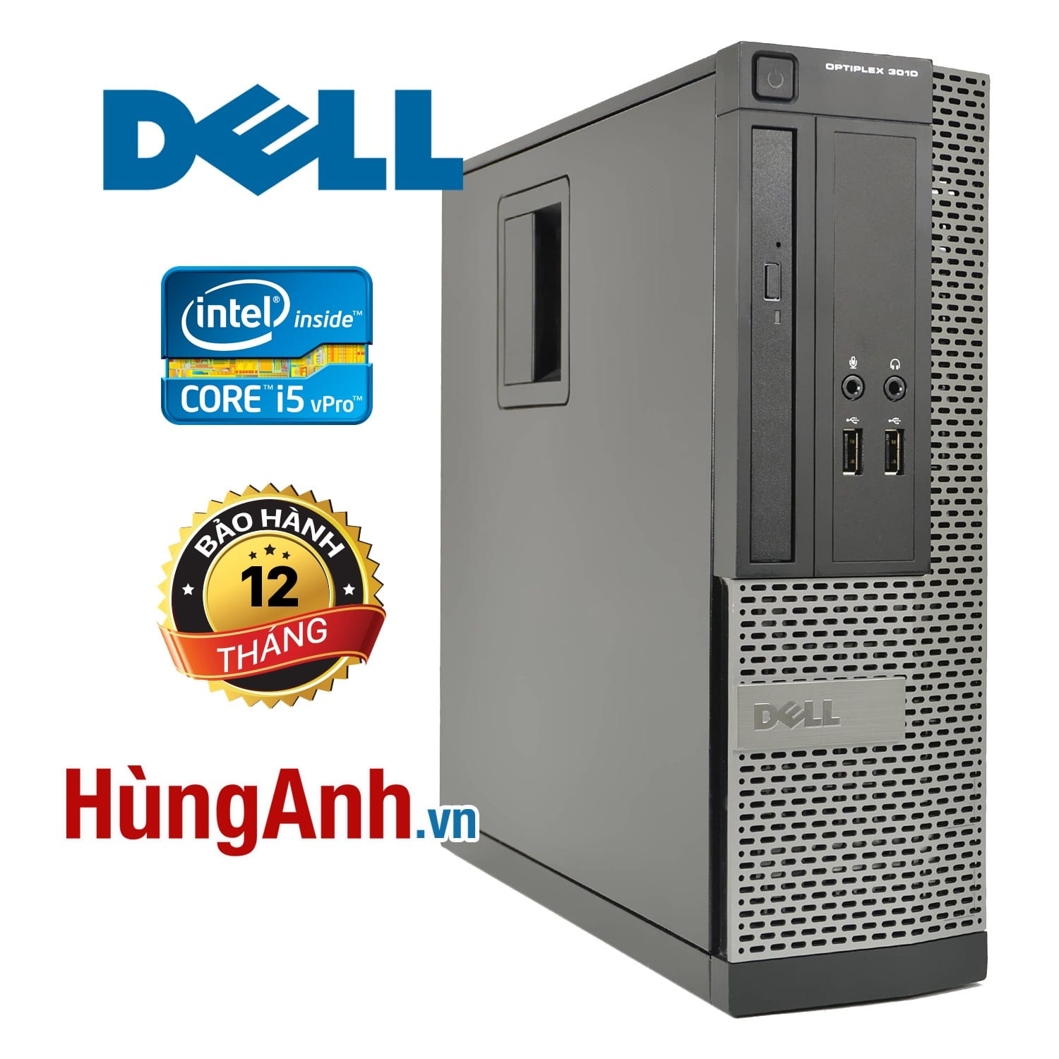 Case Dell OptiPlex 3010 | Core i5 -3470S | RAM 4GB | HDD 250GB | HD Graphics 2500