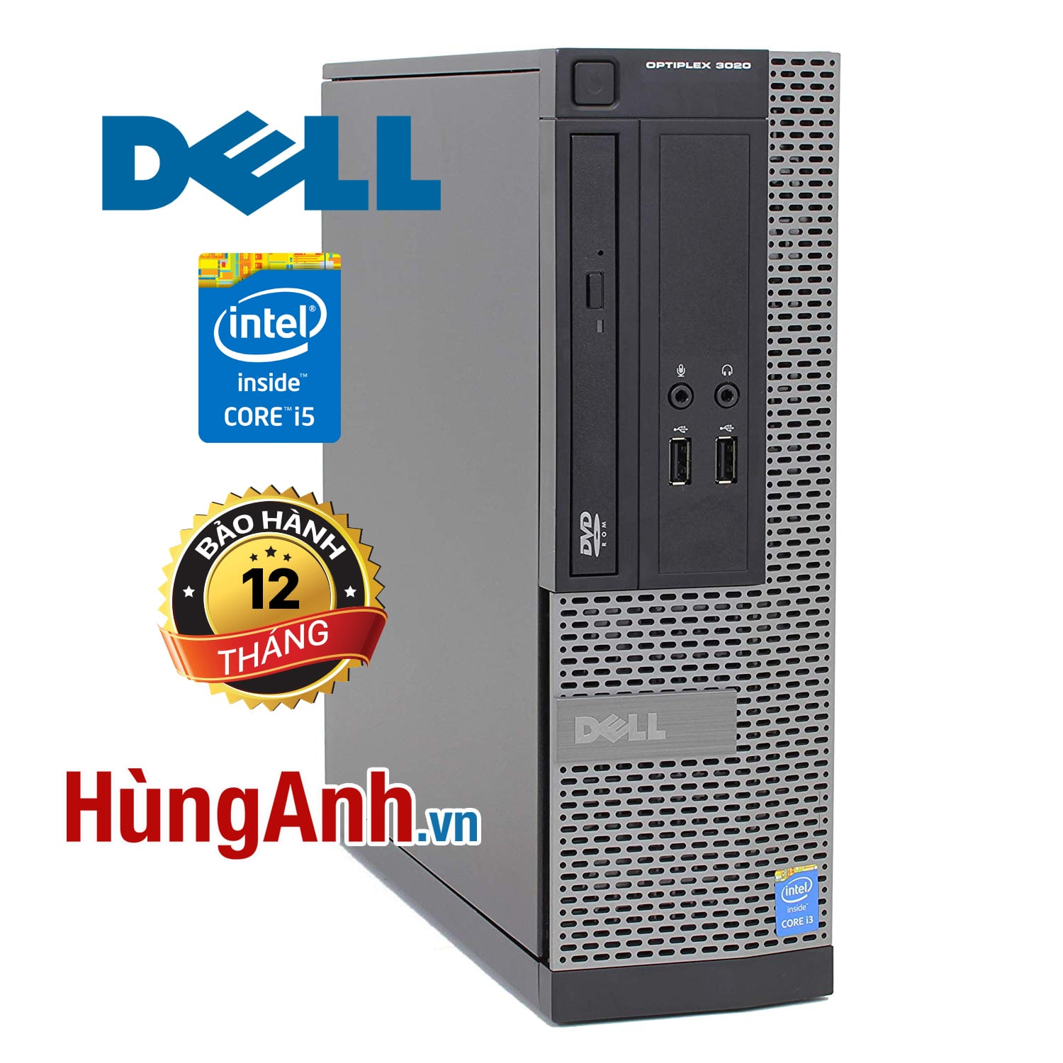 Case Dell OptiPlex 3020 | Core i5 -4570 3,60GHz | RAM 4GB | HDD 250GB | HD Graphics 4600