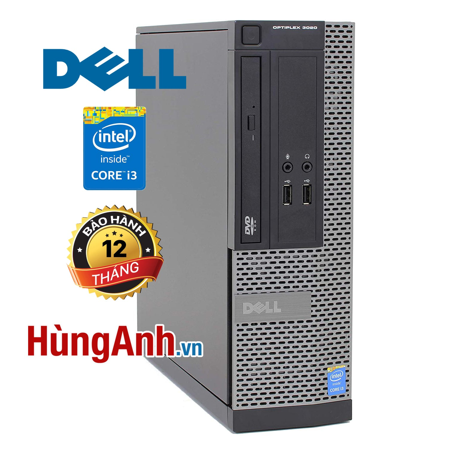 Case Dell OptiPlex 3020 | Core i3 -4150 3,50GHz | RAM 4GB | HDD 250GB | HD Graphics 4400