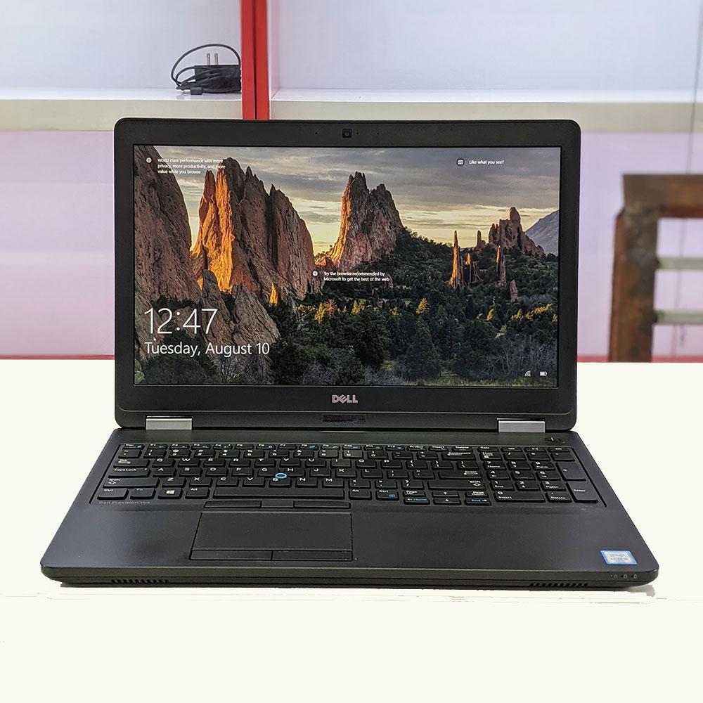 Dell Precision 3510 Core i5 6440HQ, Ram 8GB, SSD 240GB, 15.6 Full HD IPS, AMD R9 M360 (2GB)