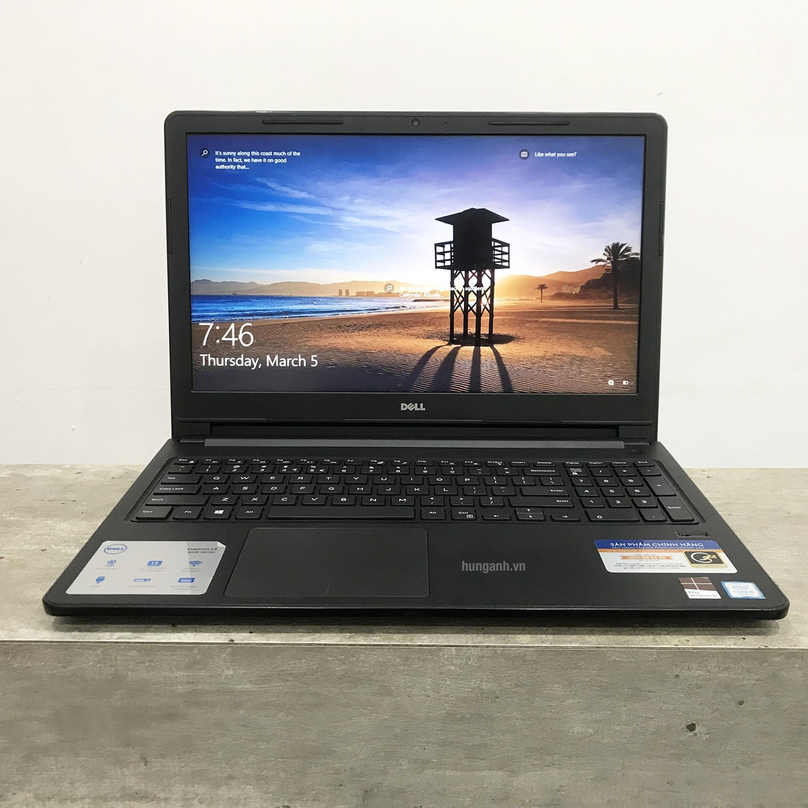 Dell Vostro 3568 Core i5 7200U, Ram 4GB, HDD 500GB, VGA On HD Graphics 620, 15.6 inch