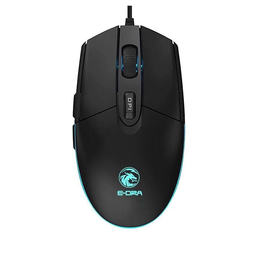 Chuột máy tính có dây chơi game có dây E-DRA EM602