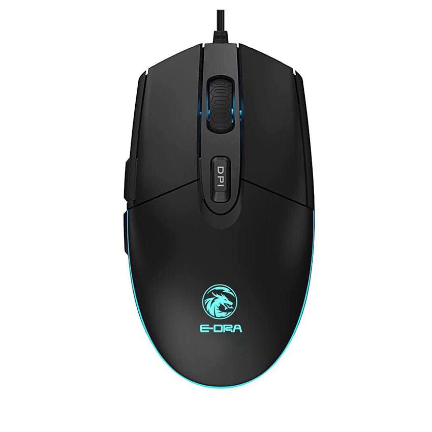 Chuột máy tính có dây Gaming E Dra EM6102 ( 6 nút, 7 màu )