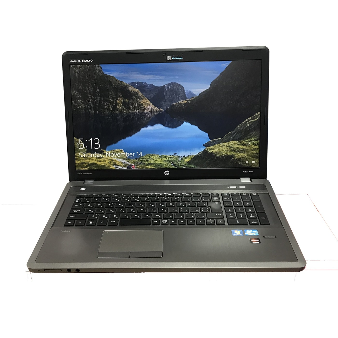 HP Probook 4740S Core i5 3320M, Ram 4GB, SSD 120GB, 17.3 inch, HD Graphics 4000 + AMD Radeon HD 7650M
