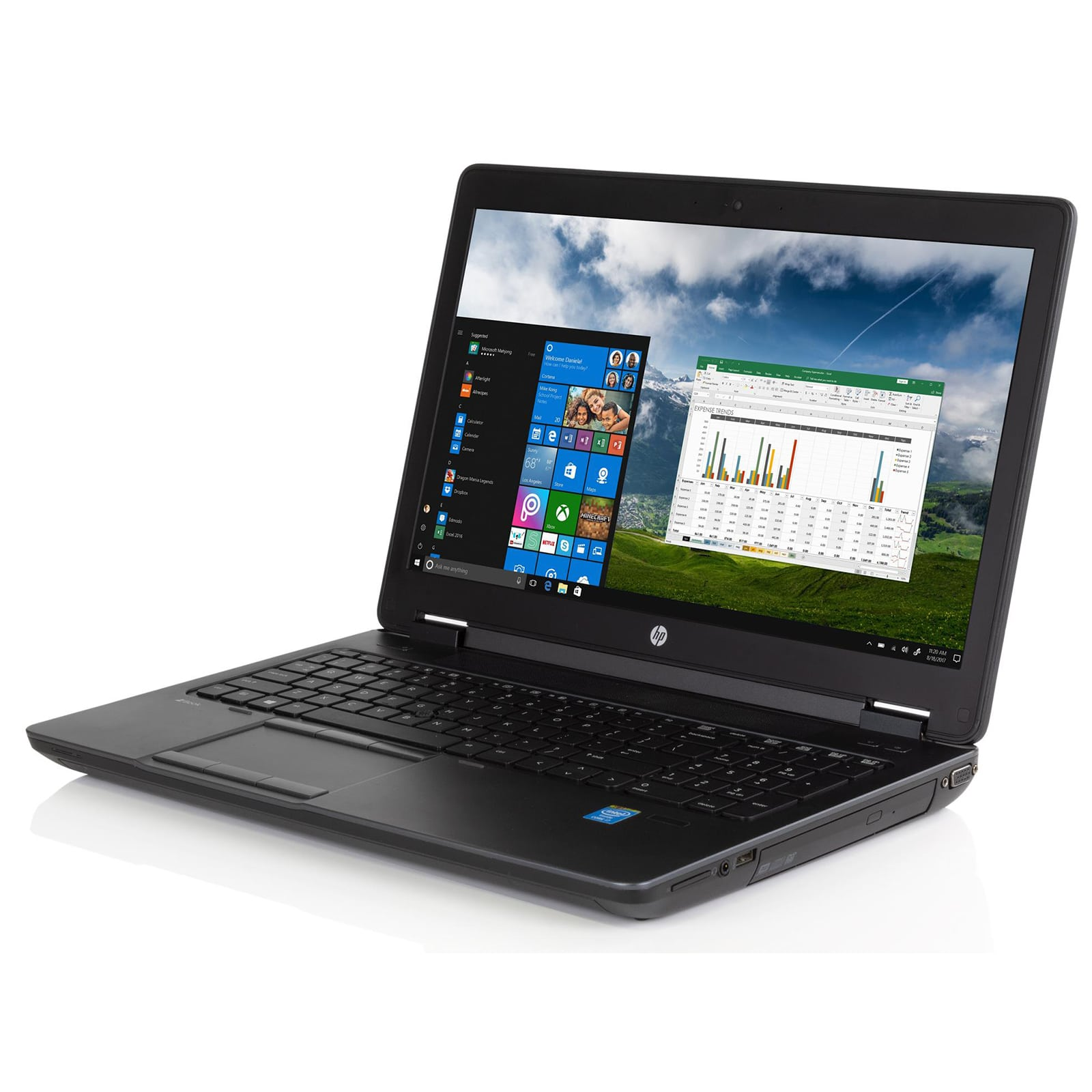 HP Zbook 15 G1 Core i7-4800QM, Ram 8GB, SSD 256GB, 15.6 inch Full HD, Quadro 2GB