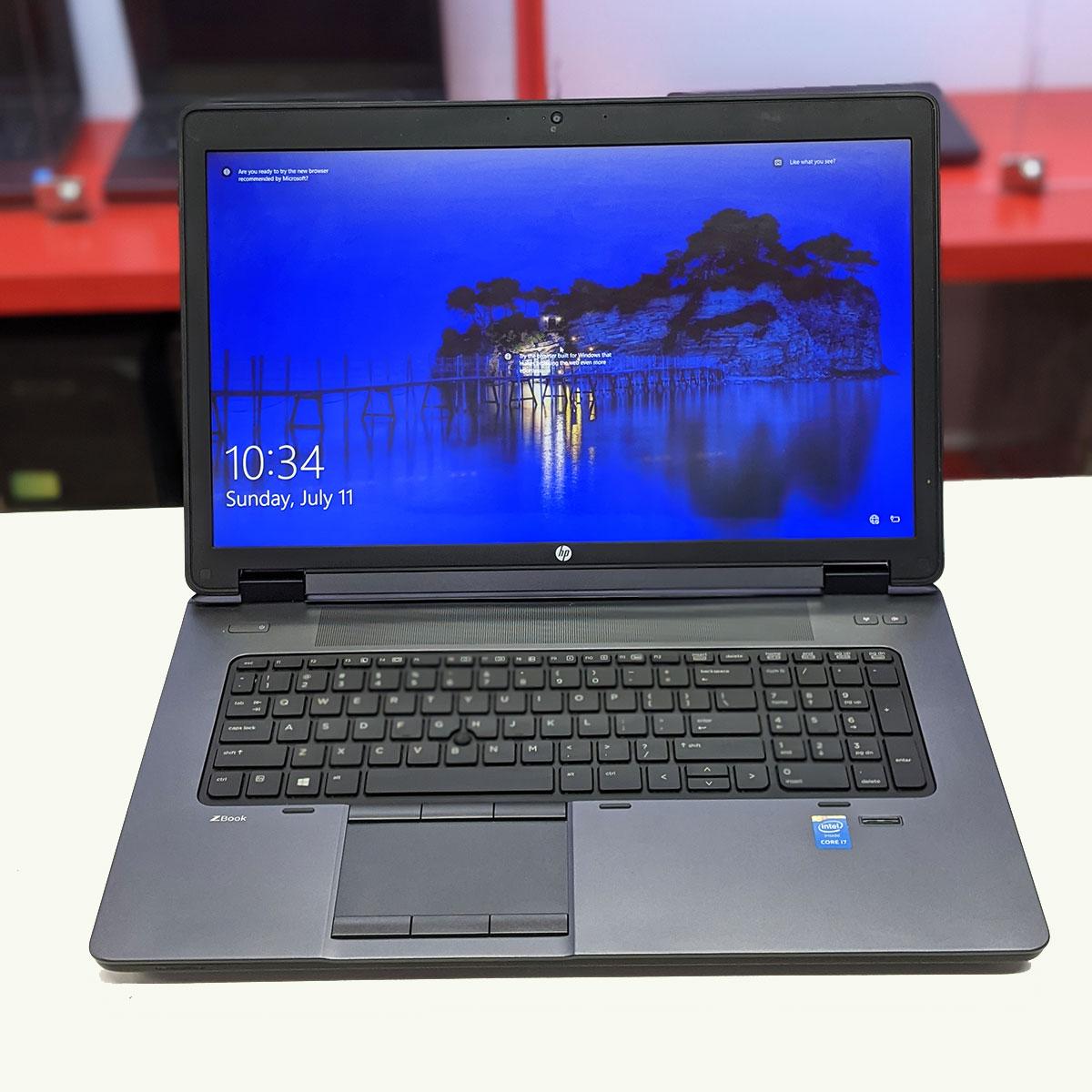 HP Zbook 17 G2 Core i7 4710QM, Ram 8GB, SSD 128GB+ HDD 500GB, 17.3 inch Full HD, Nvidia Quadro K2200M