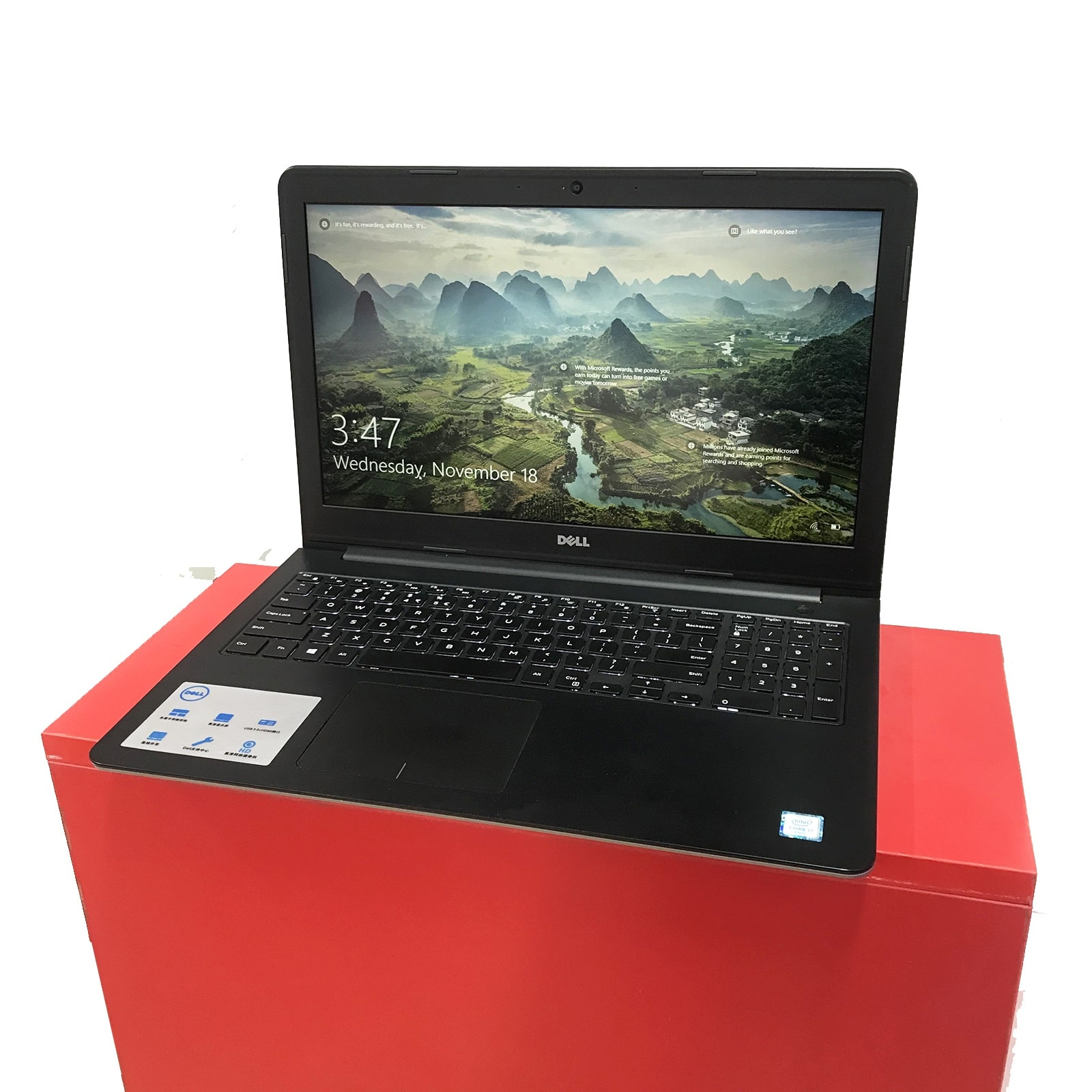 Dell Inspiron 5557 Core i7 6500U, Ram 8GB, SSD 240GB, 15.6 Inch, NVIDIA GeForce 930M