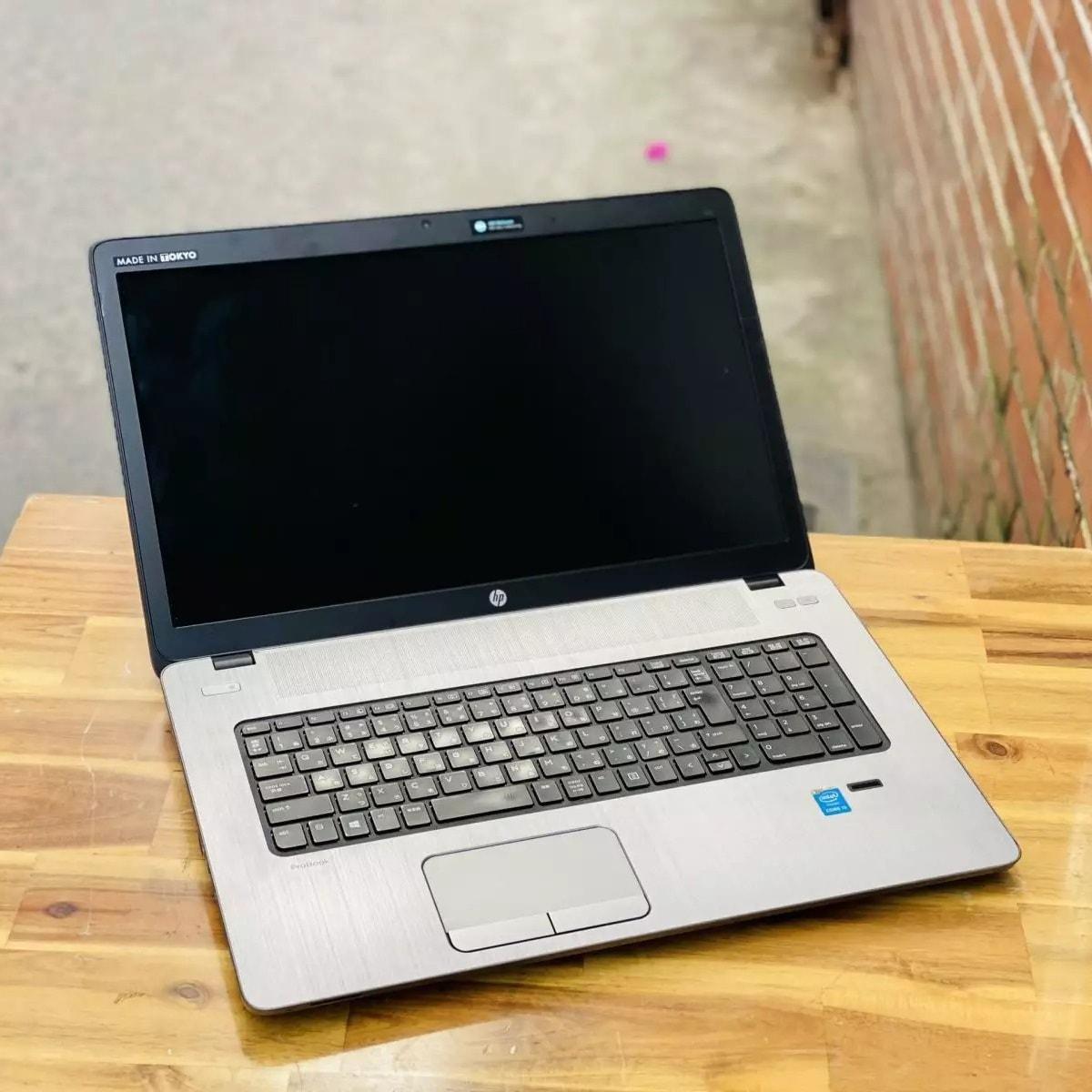 HP Probook 470 G1 Core i5 4200M, Ram 4GB, SSD 120GB, 17.3 Inch, AMD Radeon HD 8750M