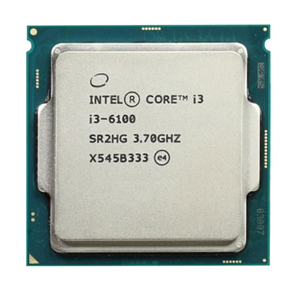 CPU Intel Core i3 6100 3.70GHz/ 3MB / Intel® HD Graphics 530 / Socket 1151