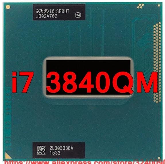 CPU Laptop Intel Core i7 3840QM, 4 lõi 8 luồng, 8MB Cache, tối đa 3.80GHz, Intel HD Graphics 4000