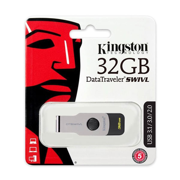 USB 3.0 Kingston 32GB SWIVL Tích hợp Mini Windows