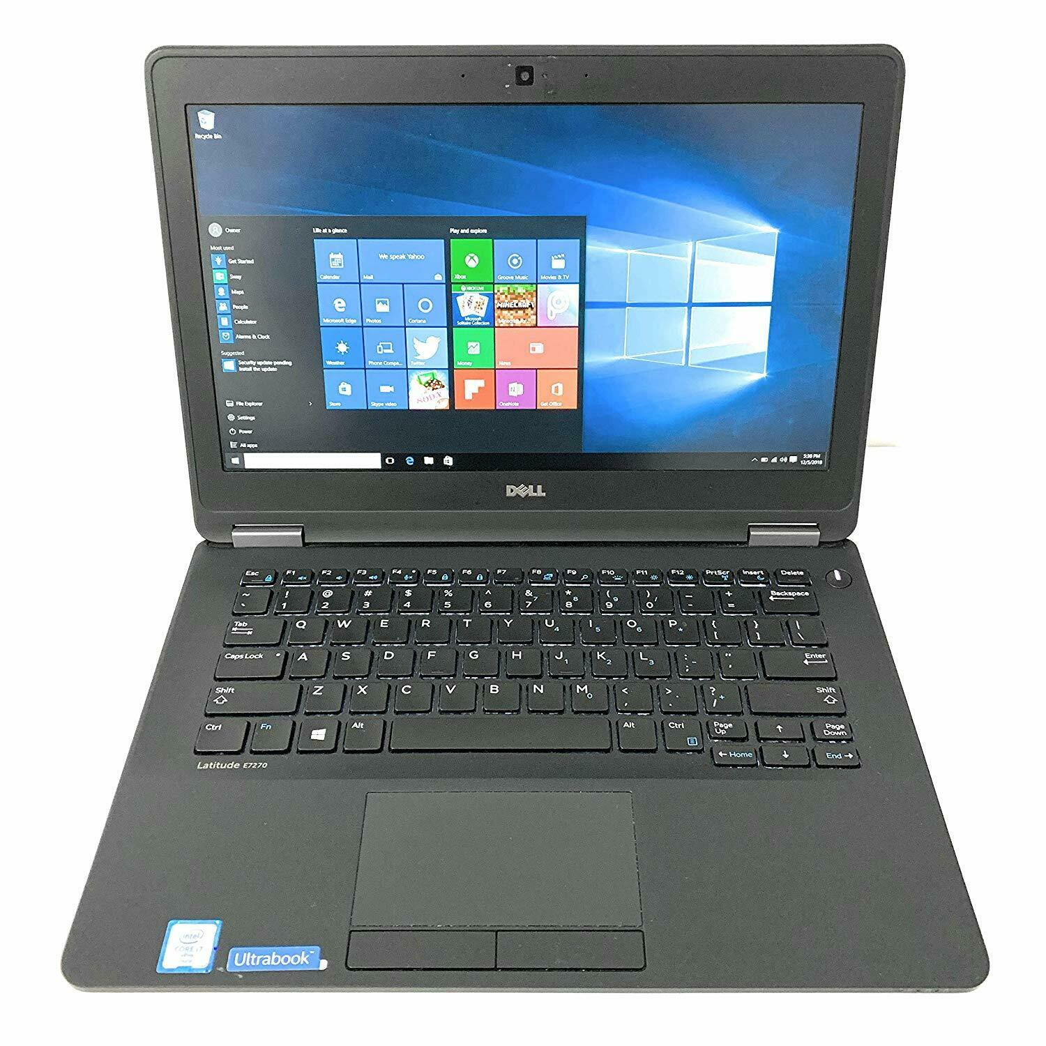 Dell Latitude E7270 Core i7 6600U, Ram 8GB, SSD 256GB, 12.5 Inch, HD Graphics 520