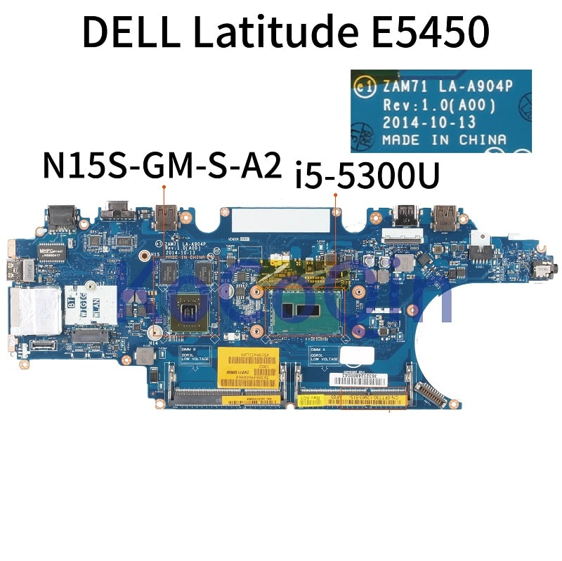 Thay Mainboard Laptop Dell Latitude E5450 Core i5 i7