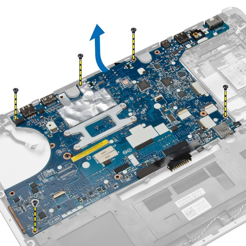Thay Mainboard Laptop Dell Latitude E7440 Core i5 i7