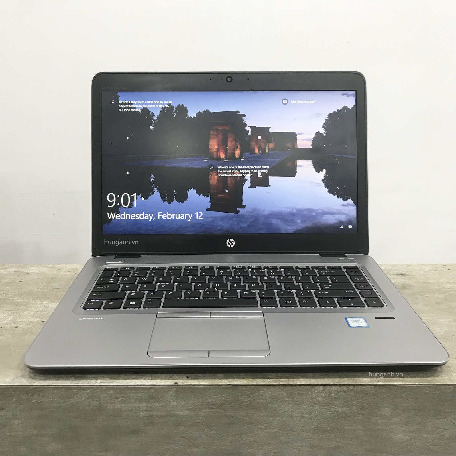 HP Elitebook 840 G3 Core i5 6300U, 8GB, 256GB, 14.0 Full HD, Card on