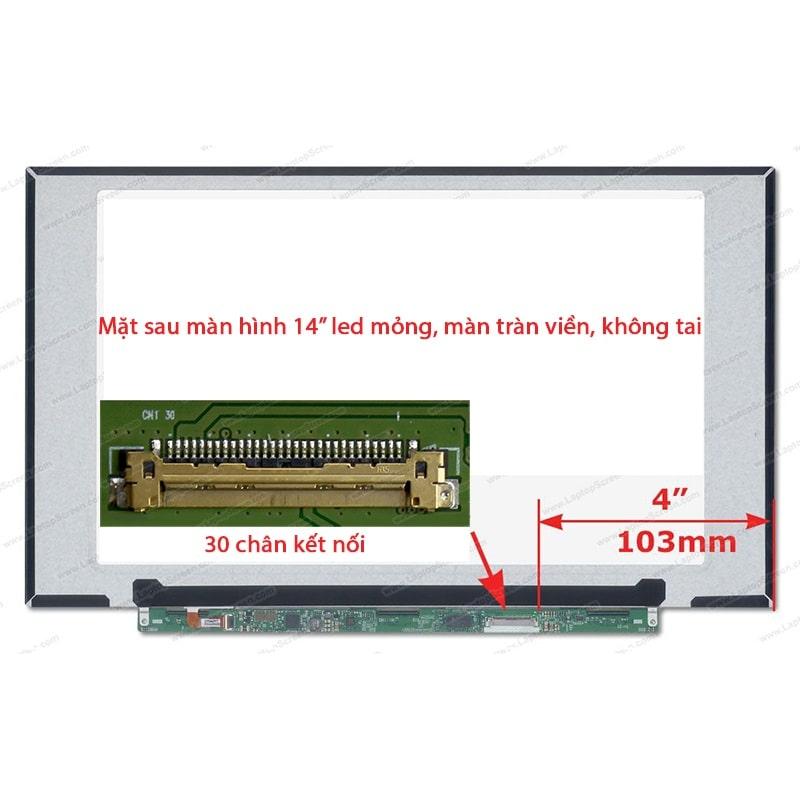 Thay màn hình Laptop Dell Latitude 7490 14 inch Full HD IPS, màn tràn viền