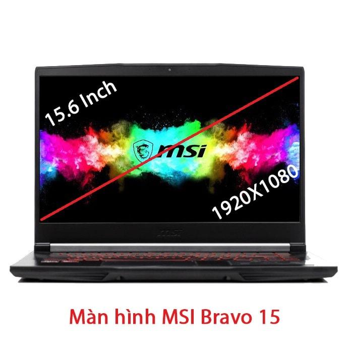 Thay màn hình laptop MSI Bravo 15 A4DCR A4DDR 15.6 Inch Full HD 60Hz 144Hz
