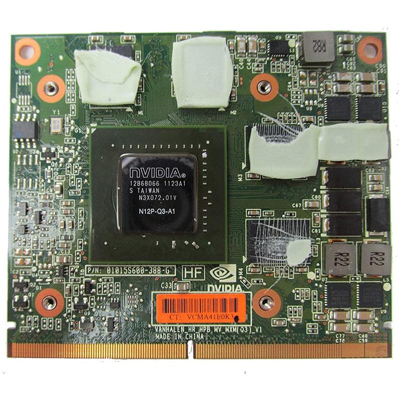 VGA rời Laptop NVIDIA Quadro 2000M nắp cho Dell M4600, HP 8560W
