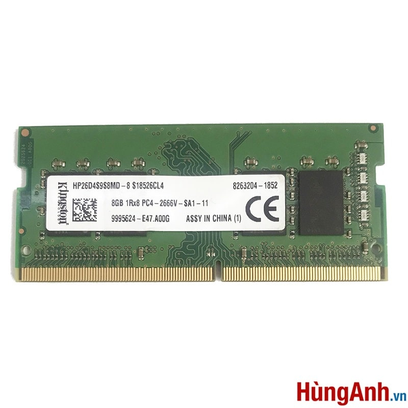 RAM Laptop Kingston 8GB / DDR4 BUSS 2133 / 2400