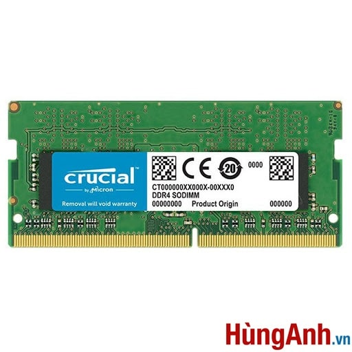 RAM Laptop Crucial 16GB / DDR4 BUSS 2400 / 2666MHz