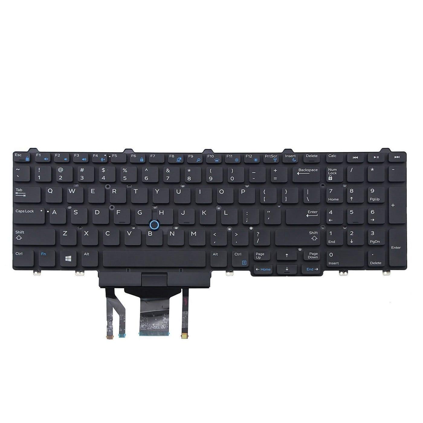 Bàn phím Laptop Dell Precision 7510 7520 7710 7720 3510 3520