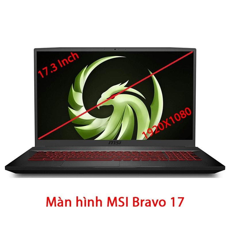 Thay màn hình laptop MSI Bravo 17 A4DDR A4DDK 17.3 Inch Full HD 120Hz 144Hz