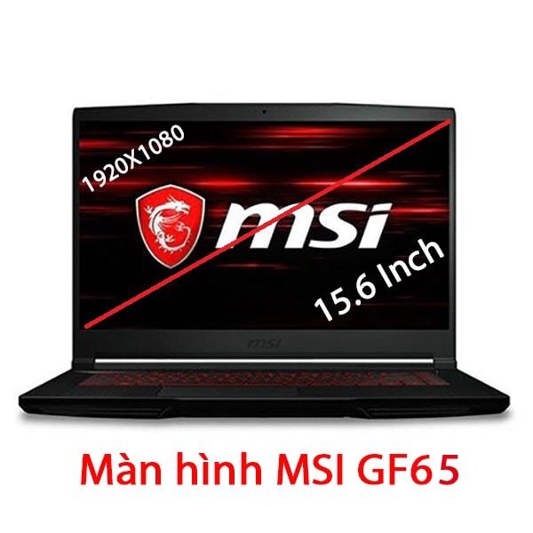 Thay màn hình MSI GF65 9SD 10SE 10SD 15.6 Inch Full HD 120Hz 144Hz MÀN TRÀN VIỀN