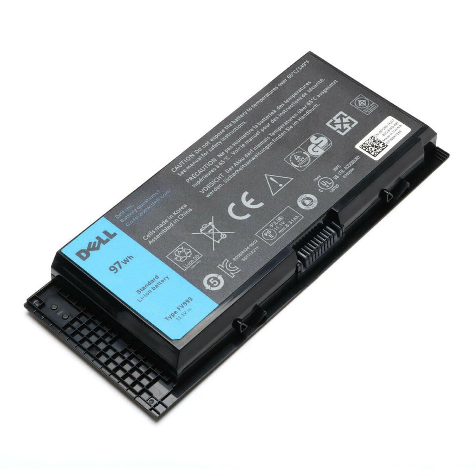 Pin Laptop Dell Precision M4600 M4700 M4800 M6600 M6700 M6800