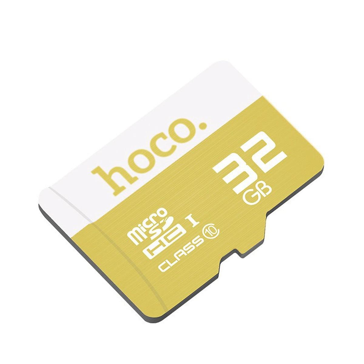 Thẻ Nhớ Micro SD Hoco 32Gb Class 10 - Hàng Chính Hãng - Bảo Hành 1 Đổi 1 5 năm