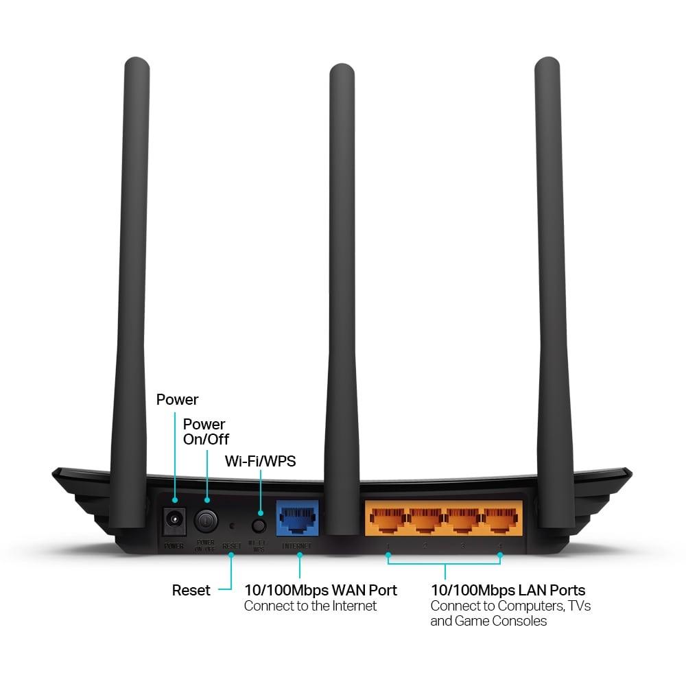 Bộ phát Wifi tp-link TL-WR940N - Router Wi-Fi Chuẩn N Tốc Độ 450Mbps