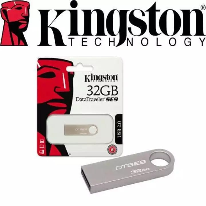 USB 32GB 2.0 Kingston SE9 Tích hợp Mini Windows
